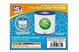 4 x My Splash Type D Filter Cartridge Swimming Pool