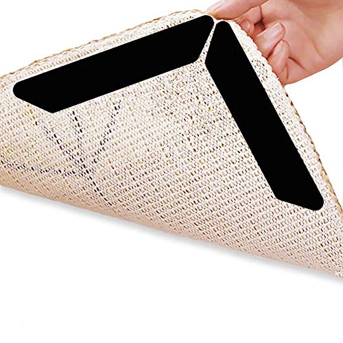 Kimferd Teppichgreifer von Mister Gripper Teppichgreifer von Mister Gripper Anti Slip Straight Carpet Gripper für Ecken und Kanten - Anti Rug Teppich für Teppiche - Ideal Teppich Stopper für Küche Bad