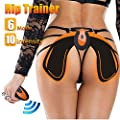 Slimerence EMS Hips Trainer, 6 Modes Smart Easy EMS Hip Shaping Device Buttocks Butt Lifting Lift Up Body Fitness Wen & Women