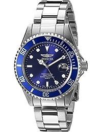 Invicta Pro Diver Reloj cuarzo correa y caja de acero dial azul 9204OB