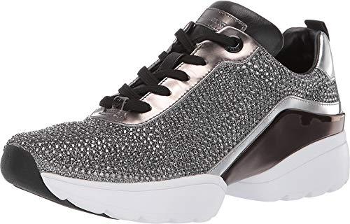 Michael Kors Sneaker JADA Trainer Glitter Chain MESH BLK/Silver Taglia 37 - Colore Argento
