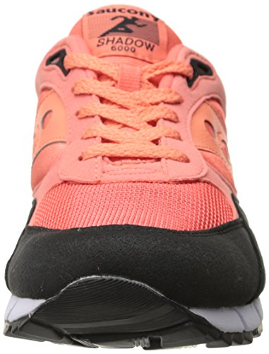 Saucony Shadow 6000 Coral Black Coral