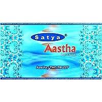 Räucherstäbchen Satya aastha- Pack von 12Kästen Räucherstäbchen 15Gramm Box–180 preisvergleich bei billige-tabletten.eu