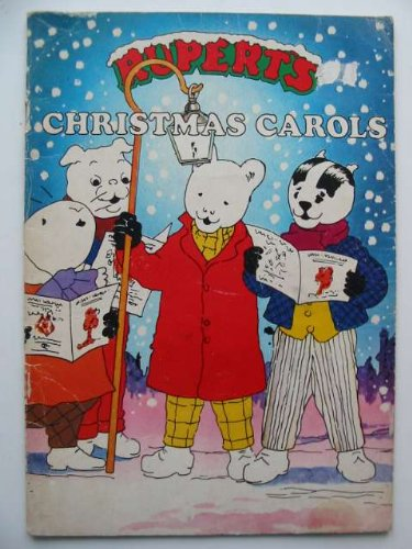 Rupert's Christmas carols