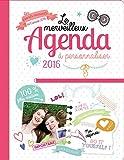 Le merveilleux Agenda Girls Book à personnaliser 2016-2017