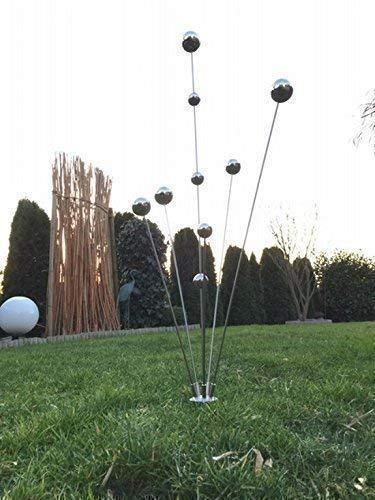 "Gartenstecker""Simply2013"" Edelstahlstele/Skulptur"