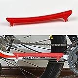 HarveyRudol85 Fahrrad-Schutzausrüstung Fahrradkettenrahmen Schutzhülle Bike Zubehör