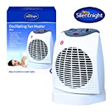 Silentnight Benross Oscillating Fan Heater, 2000 Watt Best Review Guide