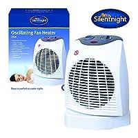 Silentnight Benross Oscillating Fan Heater, 2000 Watt