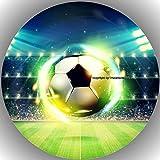 Premium Esspapier Tortenaufleger Fussball T1