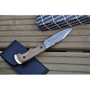 51F0DTsC3FL. SS300  - Perkin Handmade Damascus Folding Knife - Legal to Carry
