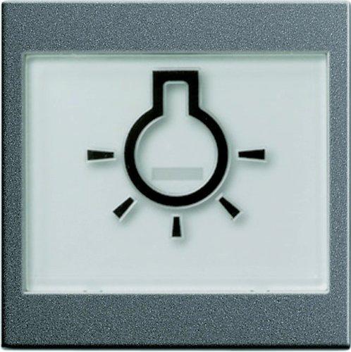 Gira 21628 - Sistema de letras táctiles campo de símbolo de la...