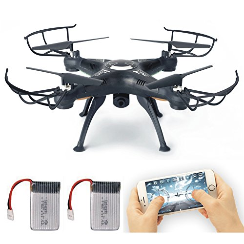 LAMASTON-X5SW-1-WIFI-HD-camera-RC-quadcopter-FPV-real-time-transmission-drone-nero