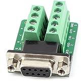 Tablero de adaptador - TOOGOO(R) RS232 D-SUB DB9 Hembra Adaptador a Modulo de senal terminal de conector