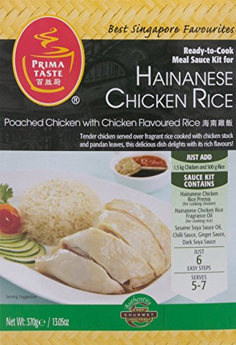Preisvergleich Produktbild Prima Taste - Fertig-Sauce-Kit für Hainanese Chicken Rice 370g