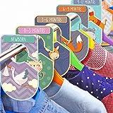 Baby Kleiderschrank-Trenner Set mit 20 Tiermotiven Kleiderschrank-Organizern für Kleidung oder Alter Unisex Pappaufhänger