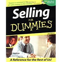 Selling For Dummies by Tom Hopkins (2001-07-15)