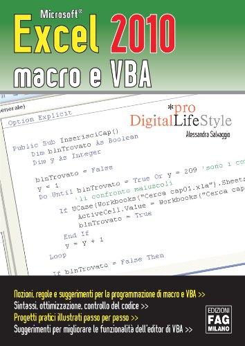 sports shoes ef957 37ead Microsoft Excel 2010 macro e VBA (-)