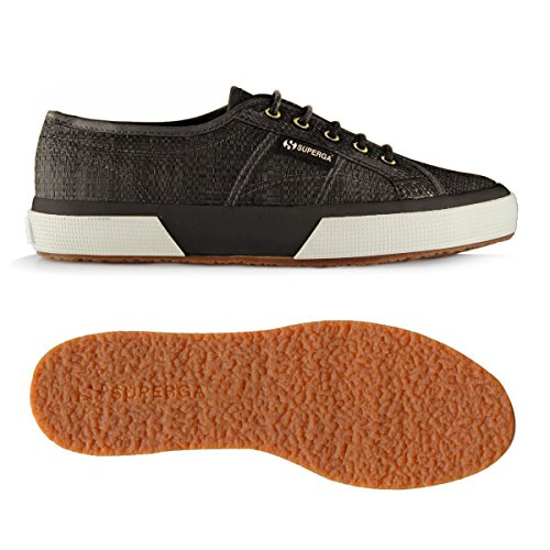 Superga 2750-Raffiau, Baskets mixte adulte Black