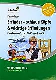 Erfinder - schlaue Köpfe & wichtige Erfindungen (Set): Grundschule, Sachunterricht, Klasse 3-4