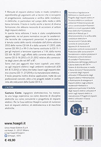 Zoom IMG-1 manuale di impianti elettrici progettazione
