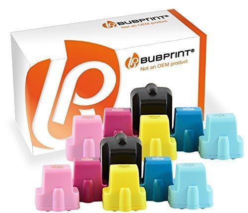 Bubprint 12 Druckerpatronen kompatibel für HP 363 HP363 für Photosmart 3100 Series 3110 3210 3310 8250 C5150 C5180 C6180 C6280 C7180 C7280 C8180 D6160 - Hp 3210 Tinte Photosmart