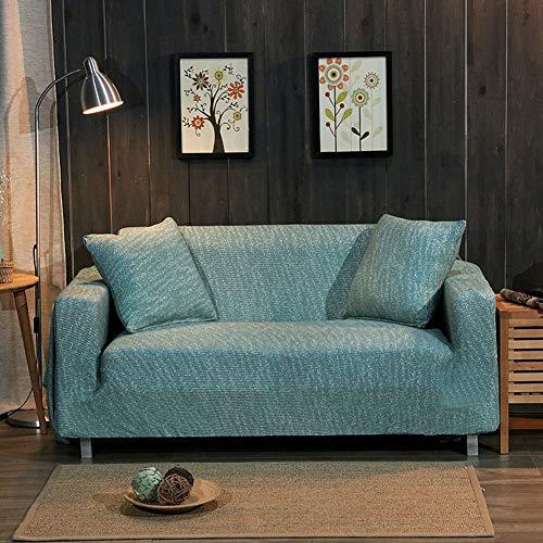 Drei Leichte, Geprägte Bügel (JR%L Sofaüberzüge Sofabezug, Knitted Jacquard Ausgestattet 1 Stück Sofabezüge Einfarbig Nicht-Slip Alle-inklusive Elastische Gurte-a 4 Sitzer:235-300cm)