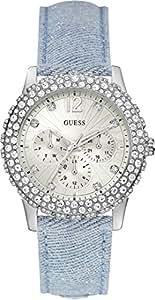 Guess Analog White Dial Women's Watch - W0336L7