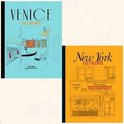 Venice and New York Cult Recipes Collection 2 Books Bundle Collection
