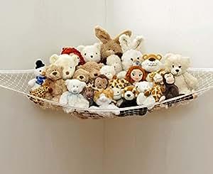 eqlef toy h ngematte speichernetz f r kuscheltiere ausgezeichnet f r kinderraum. Black Bedroom Furniture Sets. Home Design Ideas