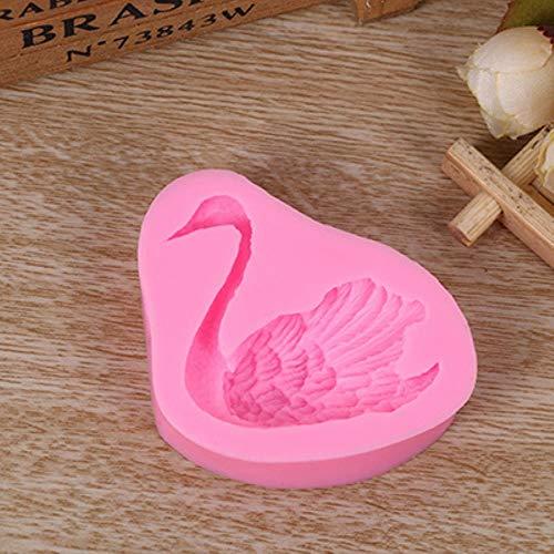 Halloween Cupcake Dekorationen Rezept - Jopu Style Animal Swan Fondant Seife
