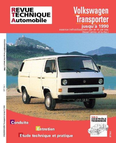 Revue Technique Automobile, CIP 732.1 : Volkswagen Transporter jusqu'à 1990, Essence (refroidissement par air et par eau) Diesel (atmo. et turbo)