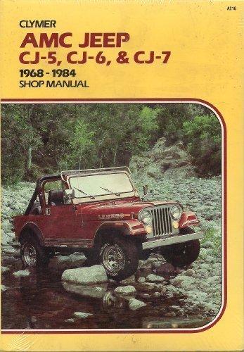 AMC Jeep CJ-5, CJ-6 & CJ-7, 1968-1986