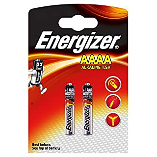 Energizer Spezialbatterie Piccolo AAAA (E96 Max 1,5Volt 2er-Packung)