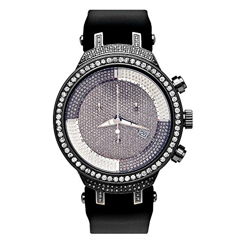 Joe Rodeo Diamond Men's Watch - MASTER black 4.8 ctw