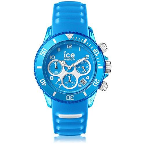 ICE-Watch Aqua Man Stopwatch Watch with Blue Dial Analogue Display - 12736