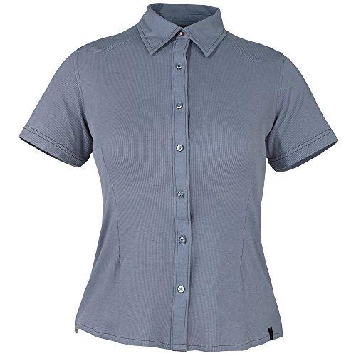 """Mascot Damenbluse""""Vatio"""", 1 Stück, XL, blau-grau, 50374-863-180-XL"""