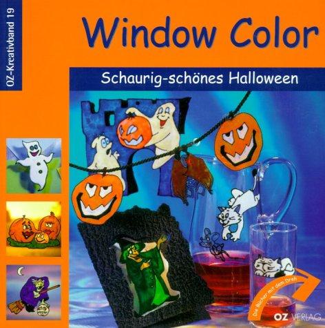 Window Color Schaurig-schönes Halloween ()
