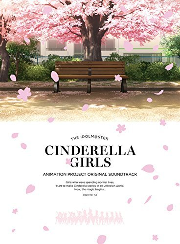 THE IDOLMASTER CINDERELLA GIRLS ANIMATION PROJECT ORIGINAL SOUNDTRACK(3CD+BLU-RAY AUDIO)(in digipak) by Idolm@Ster Cinderella Girls Animation Project Ster-audio