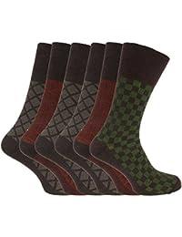 Herren Diabetiker-Socken, 6er-Pack