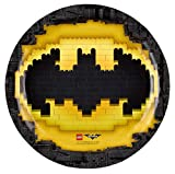 Enter-Deal-Berlin 8 Stück Teller - Lego Batman - 23 cm