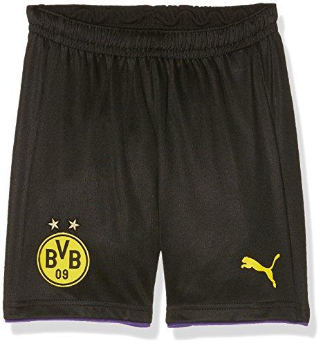 PUMA Kinder Torwarthose BVB GK Shorts, black-team violet, 152, 749814 04