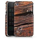 DeinDesign Apple iPhone 3Gs Coque Étui Housse Effritement planche en bois