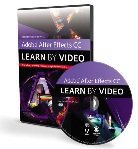 Preisvergleich Produktbild Adobe After Effects CC (Learn by Video)