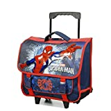 Cartable à roulettes SPIDERMAN 38 cm 2 compartiments