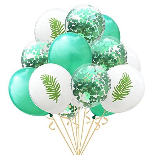 Gold Konfetti Luftballons Konfetti Ballons, Latex Luftballons Ø 25cm mit Golden Folie Konfetti für Geburtstagsfeier Hochzeit Party und Festival Dekoration 15 Stück (Rosa Und Gold, Geburtstagsfeier)
