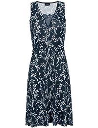Vive Maria Broadway Dress Kleid dunkelgrau Allover-Print