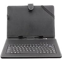 """Afunta Caso del Cuero de la PC de la Tableta de 10,1 Pulgadas universal con el Teclado / Soporte para 10 """"Tablet PC (con Micro USB Keyboard)"""