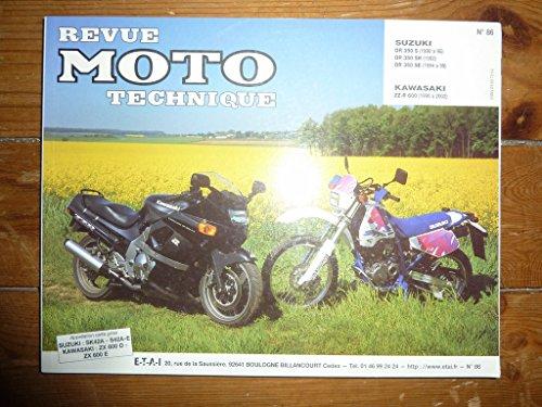 RRMT0086.4 REVUE TECHNIQUE MOTO – SUZUKI DR350S, SUZUKI DR350SH – KAWASAKI ZZR600
