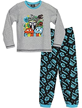 cda8d67f02 Cartoon Network Amazing World of Gumball Boys The Amazing World of Gumball Pyjamas  Ages 4 to 12 Years